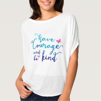 Courage & Kindness White Fashion Tee
