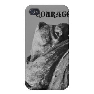 Courage Lion iPhone 4/4S Covers