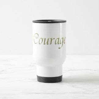 Courage 15 Oz Stainless Steel Travel Mug