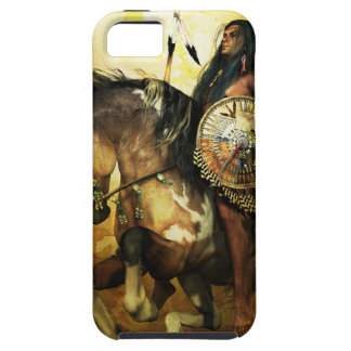 Courage Native American Warrior iPhone SE/5/5s Case