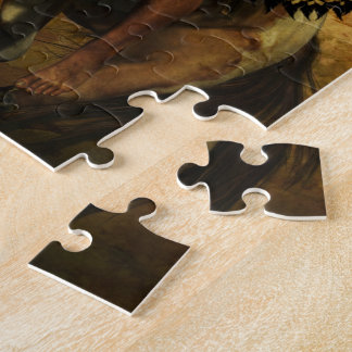 Courage Native American Warrior Jigsaw Puzzle