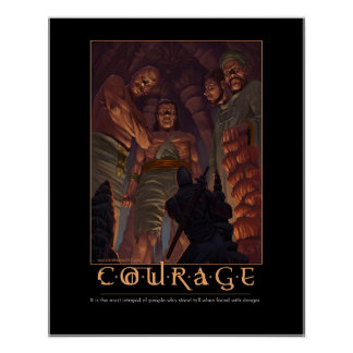 Courage new poster