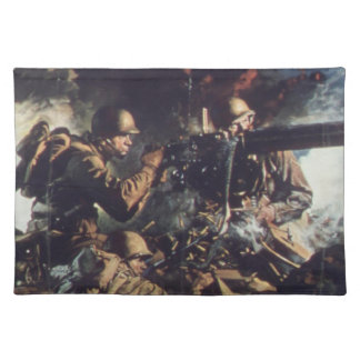 Courage on Battlefield Placemat