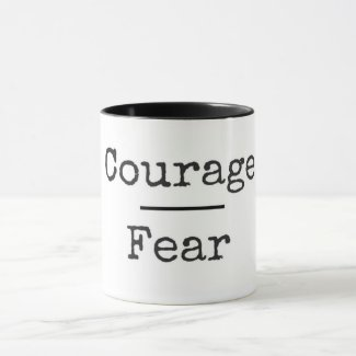 Courage Over Fear Mug
