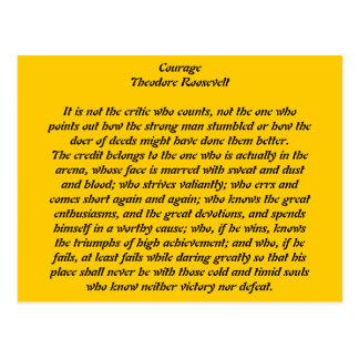 Courage Postcard