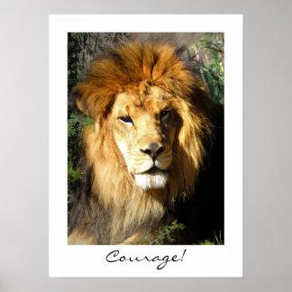 Courage! Print