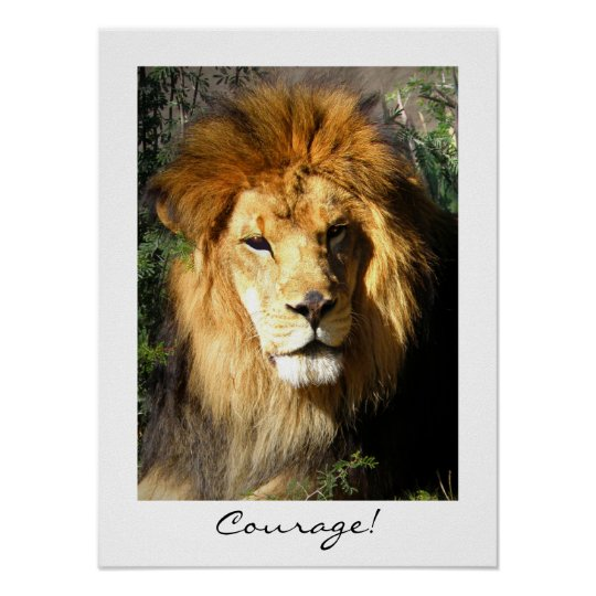Courage! Poster