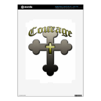 Courage - Psalm 23 Skins For iPad 3
