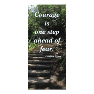 Courage Rack Card