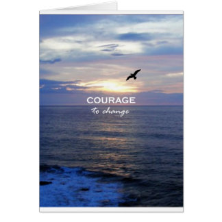 Courage To Change Card