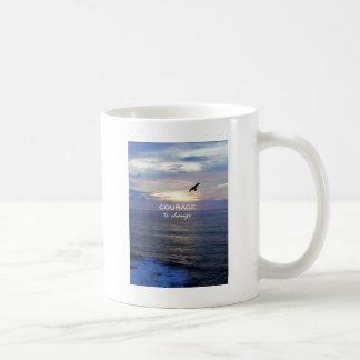 Courage To Change Coffee Mug