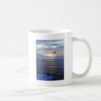 Courage To Change Classic White Coffee Mug
