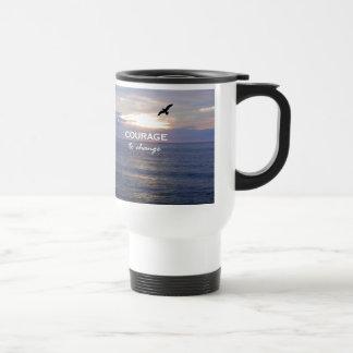Courage To Change Travel Mug