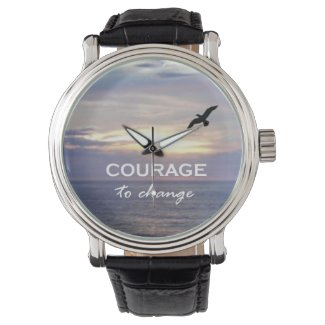 Courage To Change Wristwatches