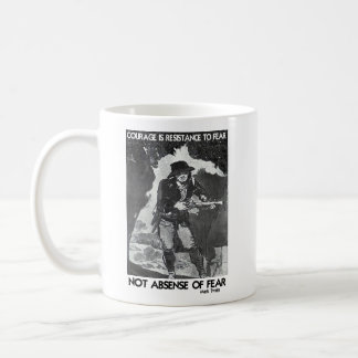 Courage vs Fear - How To Win Coffee Mug
