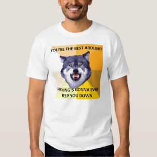 Courage Wolf Best Around Shirt