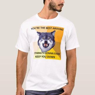 Courage Wolf Best Around T-Shirt