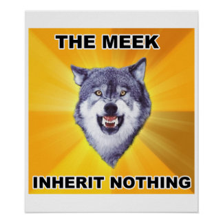 Courage Wolf Meek Inheritance Print