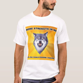 Courage Wolf Strength T-Shirt