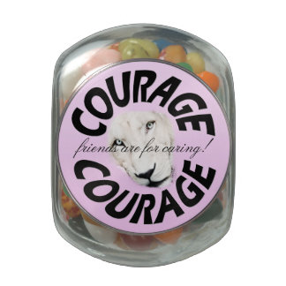 Courageous Care Jelly Belly Candy Jar