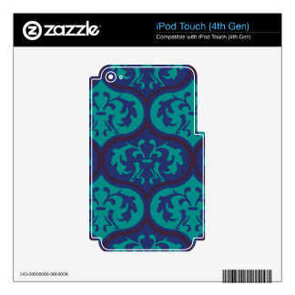 Courageous Graceful Polite Willing Skin For iPod Touch 4G