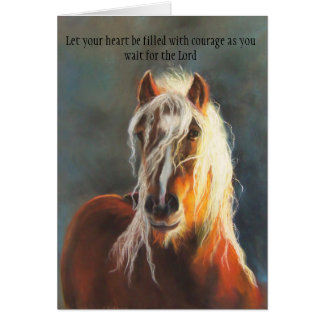 Courageous Heart Greeting Card