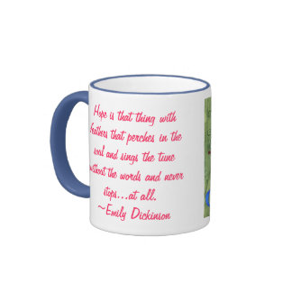 Courageous Lady Ringer Coffee Mug