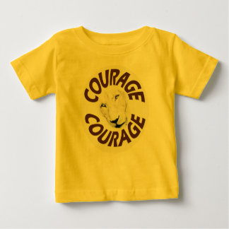 Courageous Lion Wear (Natural Graphic) Baby T-Shirt
