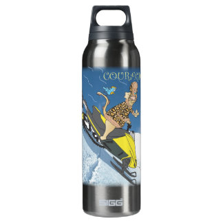 Courageous Thermos Water Bottle