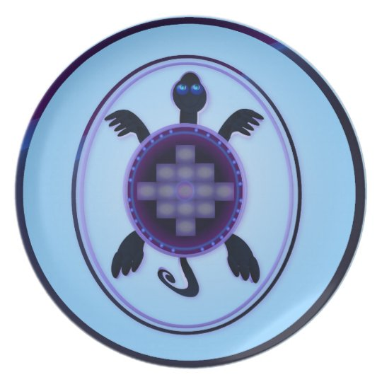 Courageous Turtle Plate