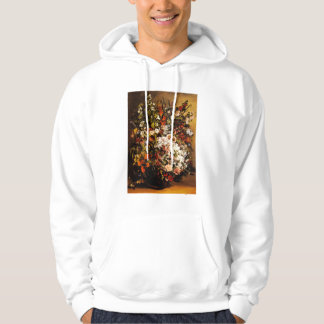 Courbet Bouquet of Flowers Hoodie