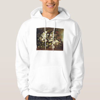 Courbet Branch of Apple Blossoms Hoodie