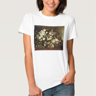 Courbet Branch of Apple Blossoms T-shirt