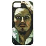 Courbet el hombre desesperado iPhone 5 Case-Mate carcasas