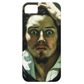 Courbet el hombre desesperado funda para iPhone SE/5/5s