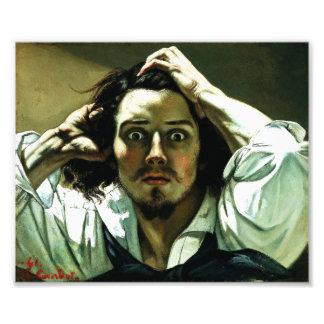 Courbet la impresión desesperada del hombre fotografias