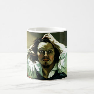 Courbet The Desperate Man Coffee Cup Classic White Coffee Mug