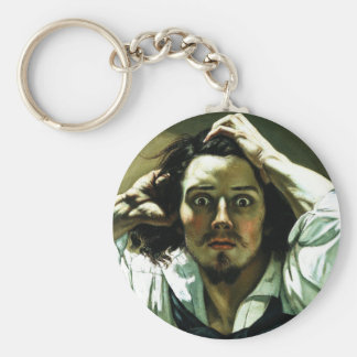 Courbet The Desperate Man Key Chain