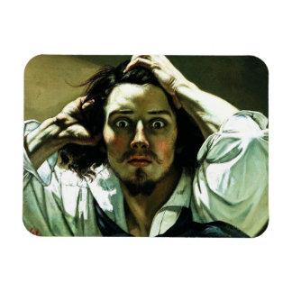 Courbet The Desperate Man Magnet