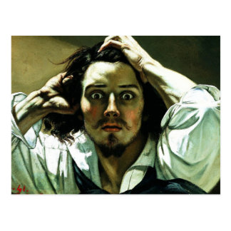 Courbet The Desperate Man Postcard