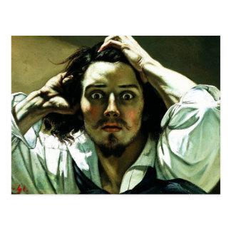 Courbet The Desperate Man Postcard