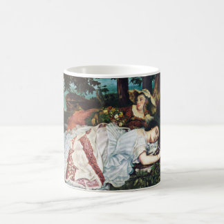 Courbet Young Ladies on the Banks of the Seine Classic White Coffee Mug