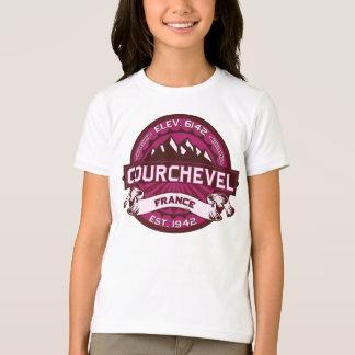 Courchevel France Raspberry T-Shirt