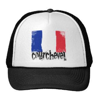 Courchevel Grunge Flag Trucker Hat