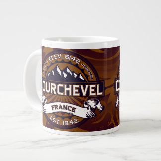 Courchevel Logo 20 Oz Large Ceramic Coffee Mug