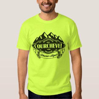 Courchevel Mountain Emblem Black Shirts