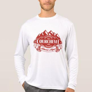 Courchevel Mountain Emblem T-shirts