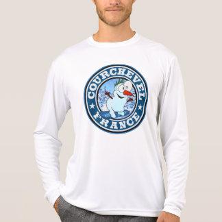 Courchevel Snowman Circle Shirts