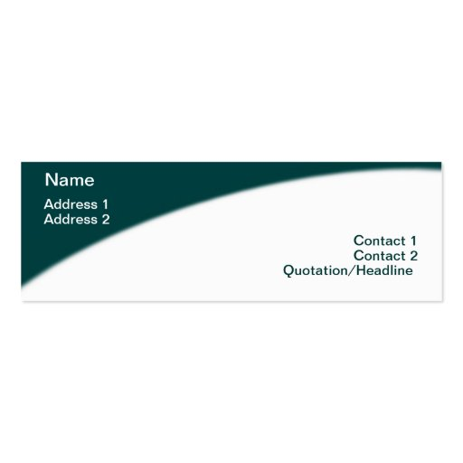 Courier Business Card