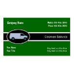 Courier Delivery Business Cards